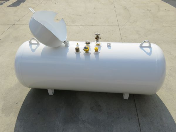 124 gallon new propane tank click to enlarge