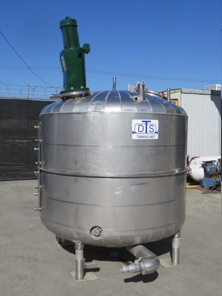 1000 gallon stainless mix tank 01