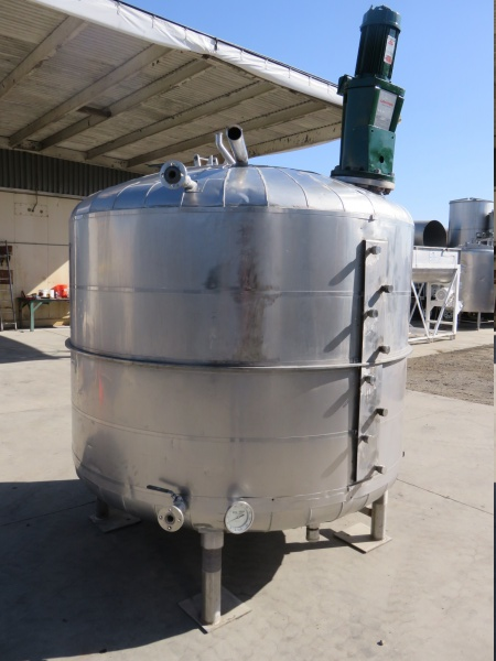 1000 gallon stainless mix tank 02