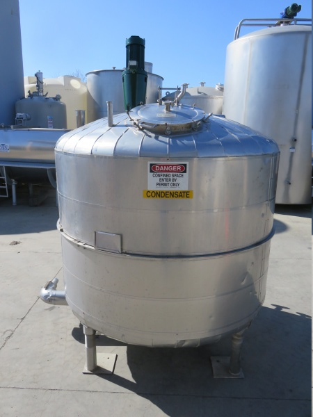 1000 gallon stainless mix tank 04