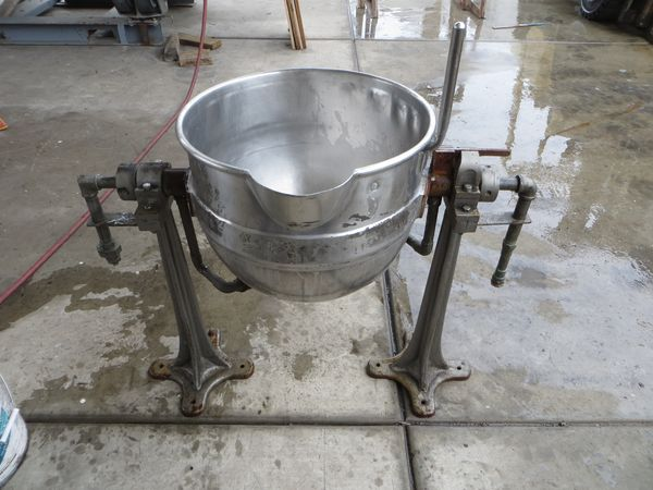 10 gallon stainless steel jacketed kettle